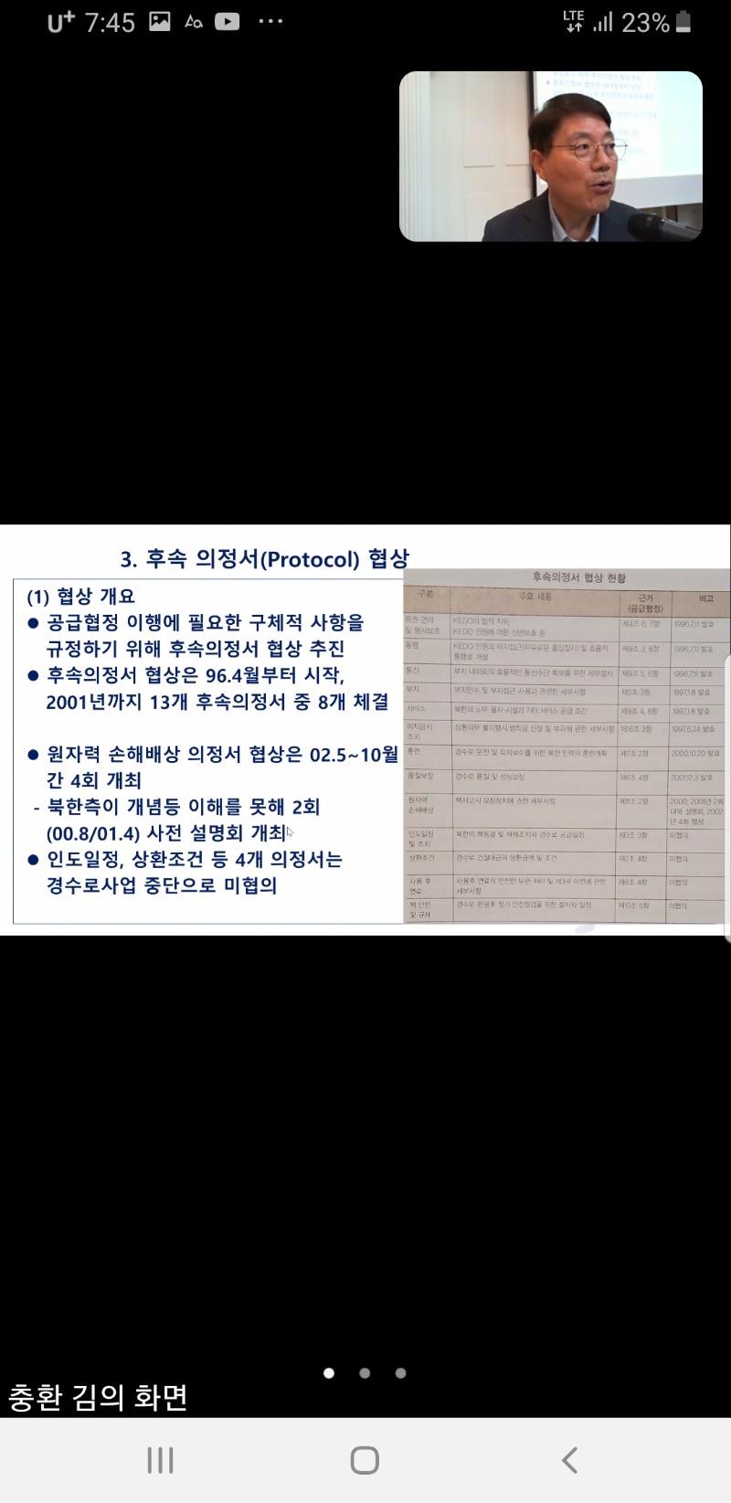 제11기 대북협상 아카데미 제7강 비대면 강의사진3.jpg